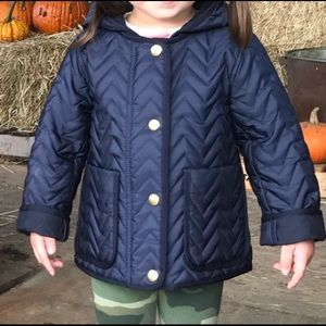 J Crew Crewcuts 3T Quilted Jacket